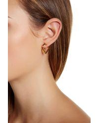 Botkier - Front Back V Drop Earrings - Lyst