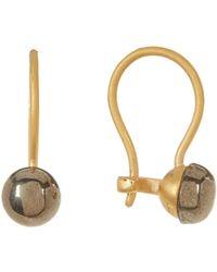 Botkier - Stone Drop Earrings - Lyst