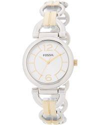 Fossil - Women's Artist Chain Bracelet Watch - Lyst