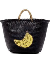 San Diego Hat Company | Woven Seagrass Banana Tote | Lyst