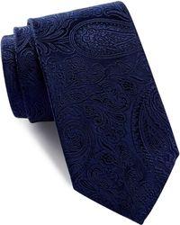 Bugatchi - Jacquard Paisley Silk Tie - Lyst