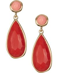 Karen Kane - Urban Jungle Drop Earrings - Lyst