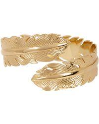 Melinda Maria - Feather Cuff Bracelet - Lyst