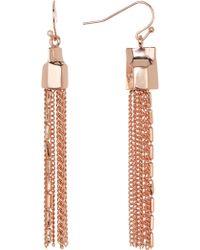 Vince Camuto - Tassel Linear Earrings - Lyst