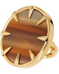 Vince Camuto - Claw Set Horn Statement Ring - Lyst