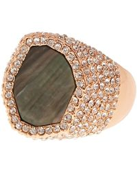 Vince Camuto - Pave Ring - Lyst