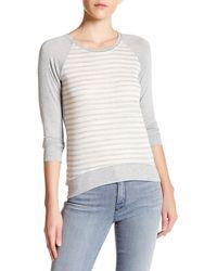 Craft & Commerce Raglan Long Sleeve Stripe Shirt - Multicolor