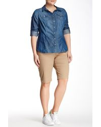Christopher Blue Billie Bermuda Short (plus Size) - Blue