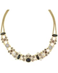 Cole Haan - Cluster Collar Necklace - Lyst