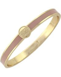 Cole Haan - 12k Gold Plated Skinny Hinge Bangle - Lyst