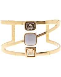 Cole Haan - Semi-precious Stone Cuff Bracelet - Lyst