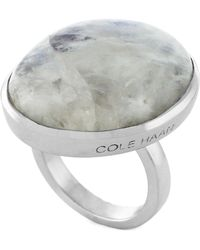 Cole Haan - Semi Precious Oversized Ring - Size 7 - Lyst