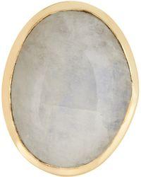 Cole Haan - Oversized Oval Rainbow Quartz Ring - Lyst