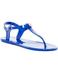 Nicole Miller Charm Jelly Sandal - Blue