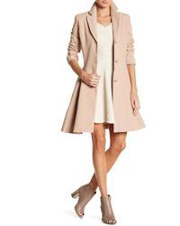 Closet - Full Circle Flare Coat - Lyst