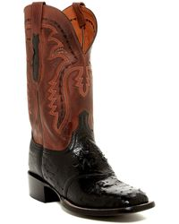 Lucchese - Diego Pin Ostrich Boot - Lyst