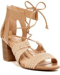 Ellen Tracy Clove Block Heel Sandal - Multicolor