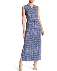 Caslon - Sleeveless Woven Maxi Dress (petite) - Lyst