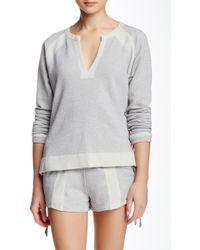 Apres Ramy Brook - Eve Long Sleeve Sweater - Lyst