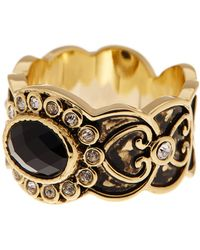 Ariella Collection - 14k Gold Plated Vintage Band - Lyst