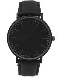 Olivia Pratt - Women's Classic Stick Hour Leather Watch - Lyst
