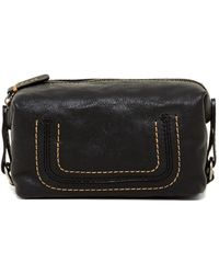Frye - Anna Leather Cosmetic Case - Lyst