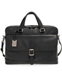 Frye Genuine Leather Oliver Briefcase - Black