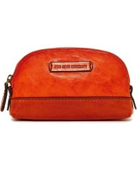 Frye - Michelle Leather Makeup Bag - Lyst