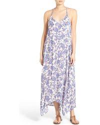 Mimi Chica - Print Racerback Maxi Dress - Lyst