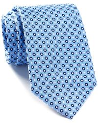 English Laundry - Dotted Silk Tie - Lyst