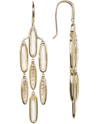 Melinda Maria - Chandelier Quartz Earrings - Lyst