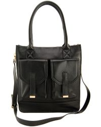 Erica Anenberg - Madison Leather Crossbody Tote - Lyst