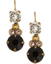 Sorrelli - Round Drop Earrings - Lyst