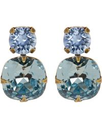 Sorrelli - Crystal Stud Earrings - Lyst