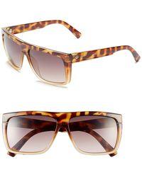 Electric - Men's Black Top Flat Top Sunglasses - Lyst