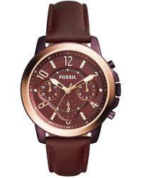 Fossil - Women's Gwynn Quartz Chronograph Watch - Lyst