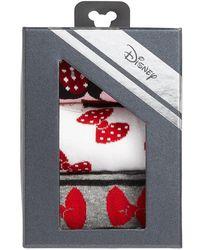 Disney Minnie Mouse 3-pack Crew Socks - Pink