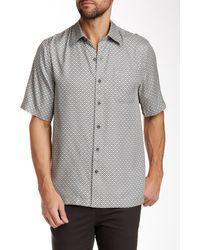Nat Nast - Leica Short Sleeve Regular Fit Silk Shirt - Lyst