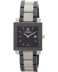 shop men s fendi watches from 500 lyst fendi men s ceramic watch lyst