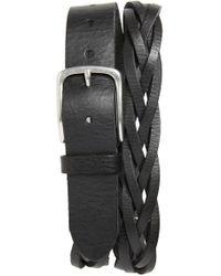 Caputo & Co. - Braided Leather Belt - Lyst