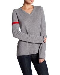 FREE CITY - Single Strike Cashmere Sweater - Lyst