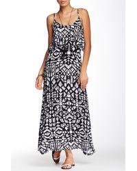 Fraiche By J - Layered Bodice Maxi Dress - Lyst