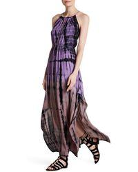 Fraiche By J - Tie-dye Print Cross Back Maxi Dress - Lyst