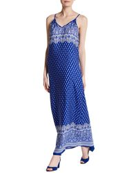Fraiche By J - Printed Maxi Tank Dress - Lyst