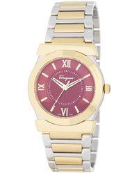 Ferragamo - Women's Vega Two-tone Bracelet Watch - Lyst