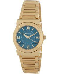 Ferragamo - Women's Vega Quartz Watch - Lyst