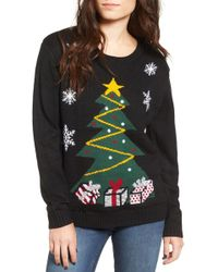 Love By Design - Light-up Tree Christmas Sweater - Lyst