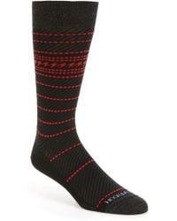 Hook + Albert - Stripe Socks - Lyst