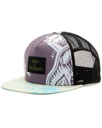 Globe - Print Snapback Hat - Lyst