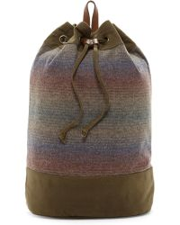 Pendleton - Timberline Twill Duffle Backpack - Lyst